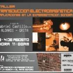 Taller 'transducción Electromagnética': Gabriel Castillo (Achokcha records, Cusco, PE)