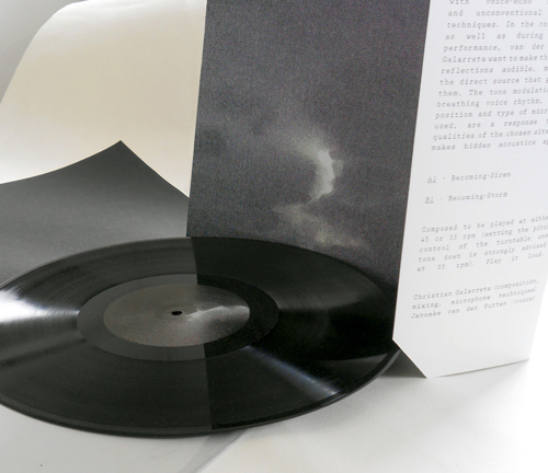 Invisible Architecture_LP, cover + text