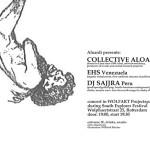 Aloardi concert: EHS / Collective Aloardi / DJ Sajjra (Wolfart Projectspaces, Rotterdam, NL)