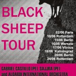 "Concerts, ""Aloardi Black Sheep Tour"", 2 - 24 June"